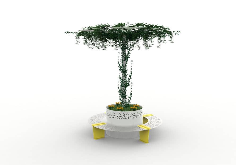 jardini re abri treillage lud nos mobiliers urbains. Black Bedroom Furniture Sets. Home Design Ideas